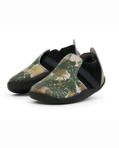 BOBUX XPLORER HABITAT PRINTED GREY SHOES