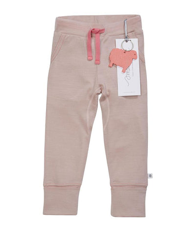 SMALLS FLUORO PINK CONTRAST STITCH TROUSERS