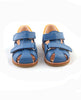 ANGULUS STARTER SANDAL WITH VELCRO CLOSURE