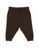 FUB BABY TEXTURE PANTS BROWN