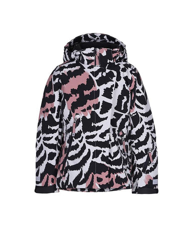 MOLO PEARSON GRAPHIC FEATHERS JACKET
