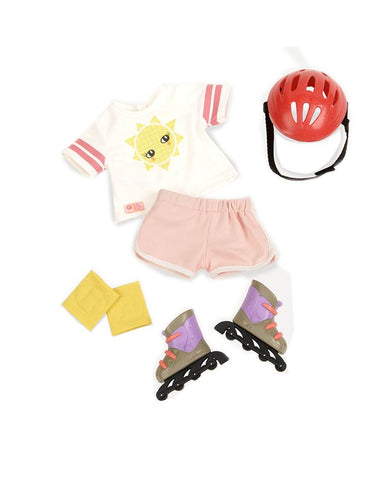 ROLL WITH IT ROLLERBLADES REGULAR OUTFIT