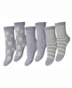 ANKLE SOCKS FREDE 3PK GREY