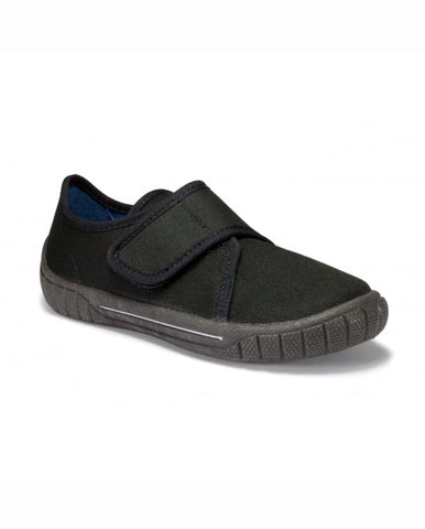 SUPERFIT BLACK SCHOOL PLIMSOLL