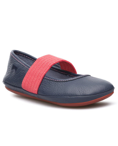 CAMPER KIDS RIGHT BALLET FLATS