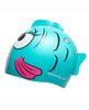 SPEEDO SEA SQUAD CHARACTER JUNIOR SWIM CAP BLUE