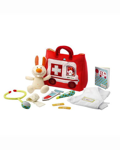 LILLIPUTIENS AMBULANCE DOCTOR SET