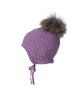 MP DENMARK MONTZ BABY HAT WITH FUR POM POM