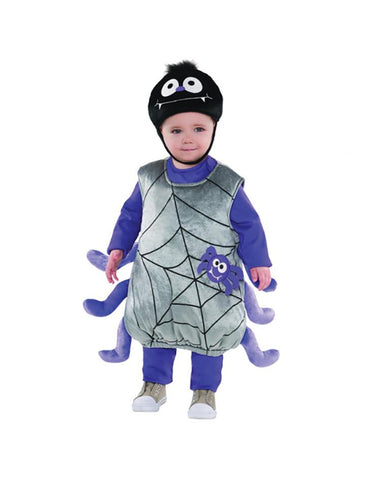 AMSCAN BABY ITSY BITSY SPIDER COSTUME - AGE 1-2 YEARS