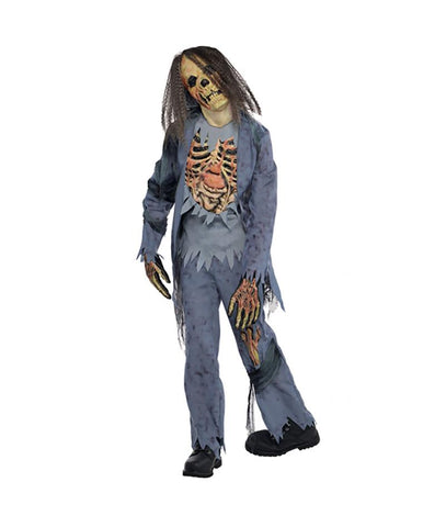 AMSCAN CHILDREN ZOMBIE CORPSE COSTUME - AGE 8-10 YEARS