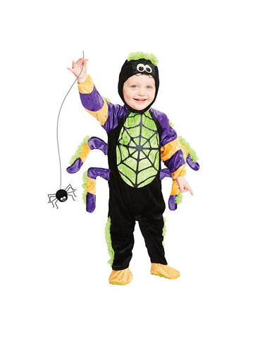 AMSCAN LITTLE SPOOKY SPIDER COSTUME - AGE 6-12 MONTHS