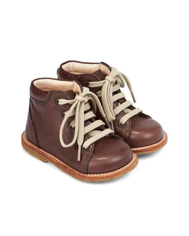 ANGULUS STARTER BOOT WITH LACES BROWN