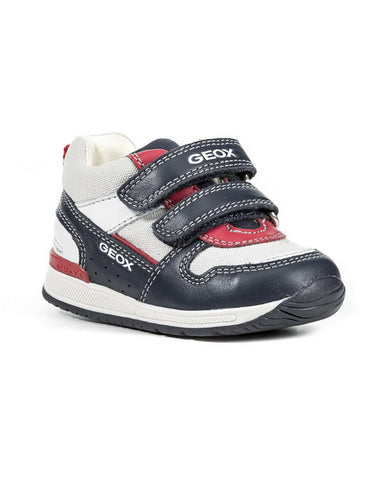GEOX B RISHON NAVY RED