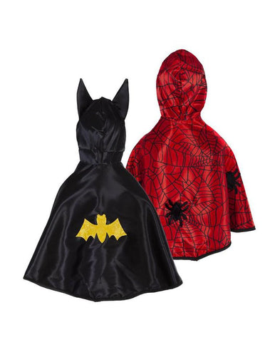 BABY SPIDER/BAT CAPE REVERSIBLE 1/2