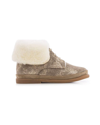 POM D'API FAN-FAN FUR JAZZ/SHEEPWOOL BEIGE/IVOIRE