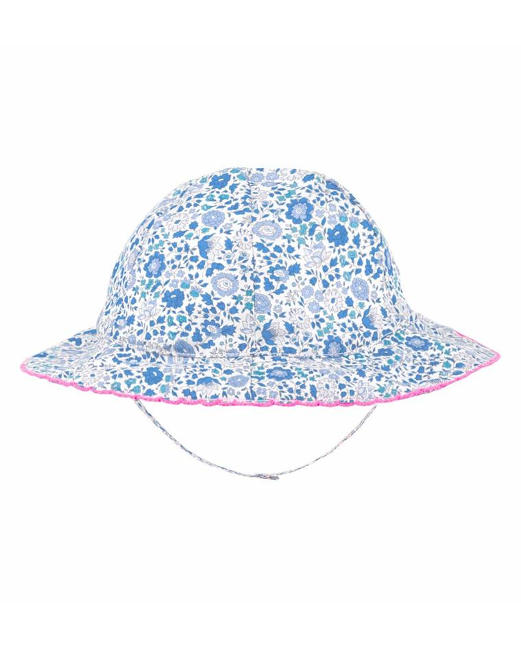 BABY GIRLS JERSEY SUN HAT LIBERTY