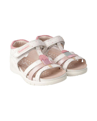 BIOMECANICS GIRL SANDALS BLANCO (SAUVAGE) BIO-192169-B-WHITE