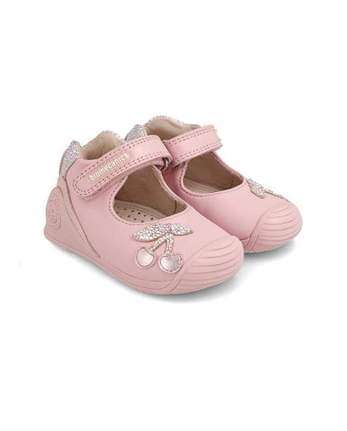 BIOMECANICS LEATHER SHOES FOR BABY GIRL LOLA - 202118