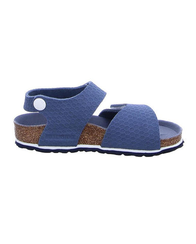 BIRKENSTOCK PALU KIDS MF HEXAGON TECH BLUE 1012643-BIR