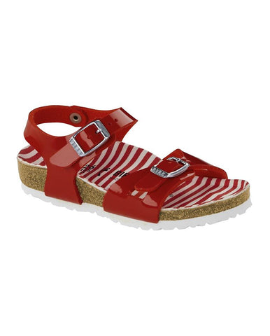 BIRKENSTOCK RIO KIDS BF NAUTICAL STRIPES RED 1012720-BIR