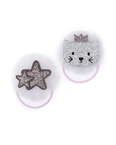 BALLET CAT &STAR ELASTIC DUO PACK