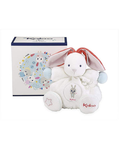 KALOO KALOO CHUBBY RABBIT WHITE - LARGE