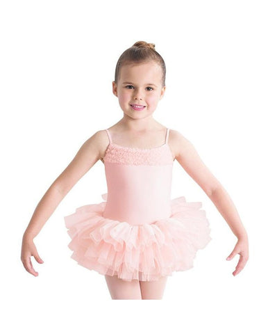 BLOCH DESDEMONA - GIRLS TUTU LEOTARD