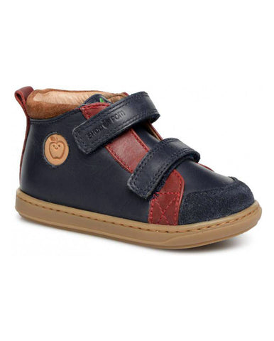 SHOOPOM BOUBA NEW SCRATCH FREESIA NAVY/RED/NUTS