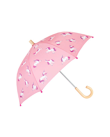 HATLEY COLOUR CHANGING UNICORN SILHOUETTES UMBRELLA