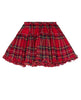 TARTAN POP SKIRT - RED