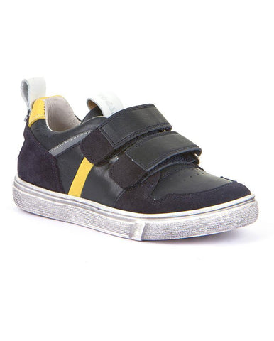 FRODDO BOYS SHOES WITH TWO VELCRO BLACK - G3130143