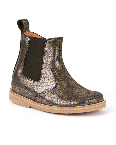 FRODDO GIRLS CHELSEA BOOT IN SPARKLE LEATHER