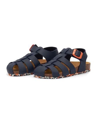 GARVALIN BOY SANDAL NAVY - 202474