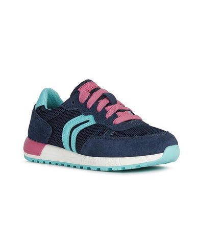 GEOX J ALBEN GIRL JUNIOR SNEAKERS-J02AQB01422C4268