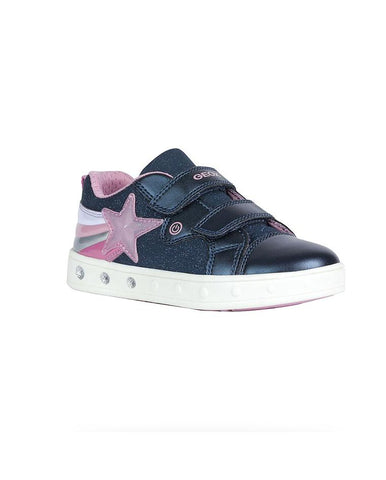 GEOX J SKYLIN GIRL JUNIOR SNEAKERS-J028WC0ASAJC4002
