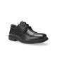 GEOX SCHOOL J FEDERICO LEATHER BLACK