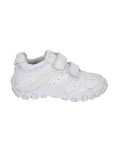 GEOX SCHOOL J CRUSH WHITE
