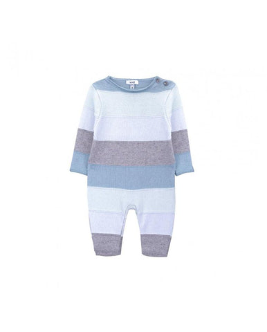 KNOT ECHO BABY KNITTED CASHMERE/COTTON ALL IN ONE