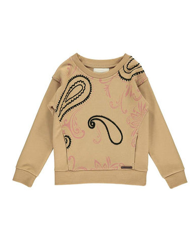 MARMAR TAILA DOUBLE JERSEY TOFFEE PAISLEY