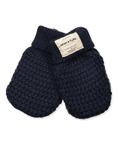 MINIATURE CELIE GLOVES, BM PEACOAT BLUE