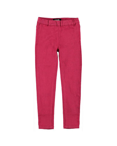 MOLO APRIL WOVEN PANTS RASPBERRY KICK