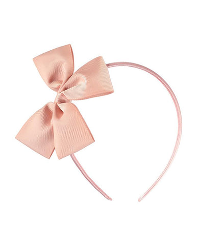 MOLO FANCY BOW HAIRBAND POWDER