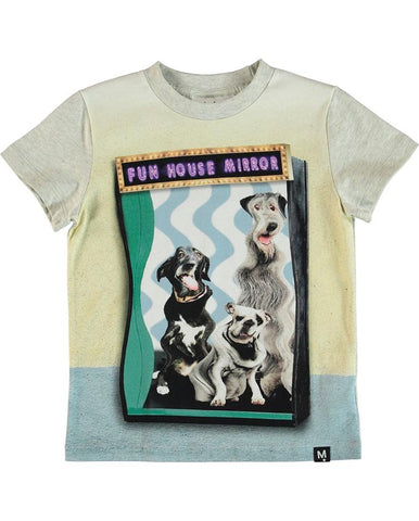 MOLO RAYMONT T-SHIRTS SS FUN HOUSE DOGS 1S19A224-3167