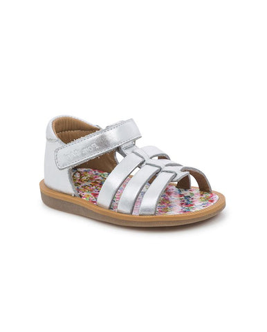 POM D'API GIRLS SANDALS POPPY STRAP PRT LAMINATO/FLOWER G-1-EB-Q404-75