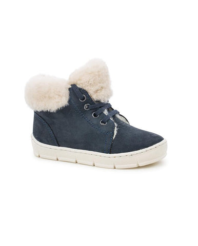 POM D'API START TOP FUR NEW YORK/SHEEPW MARINE/BEIGE