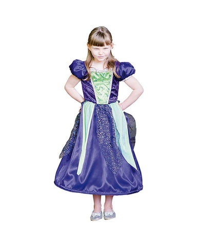 AMSCAN REVERSIBLE PRINCESS TO WITCH COSTUME