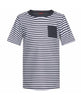 BOYS S/S SUNUVA STRIPE RASH WITH POCKET GENERIC