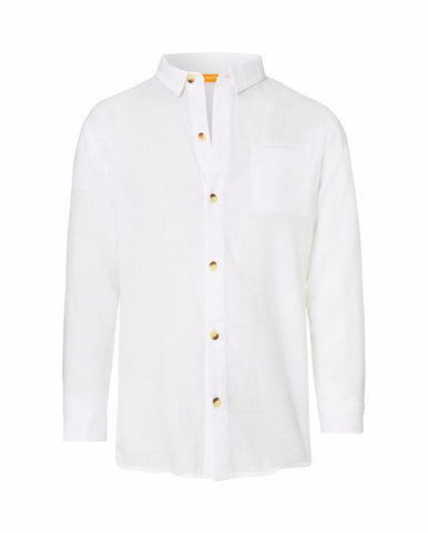 BOYS COTTON SHIRT GENERIC WHITE