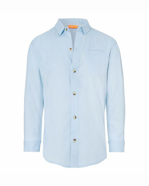 BOYS COTTON SHIRT GENERIC BLUE