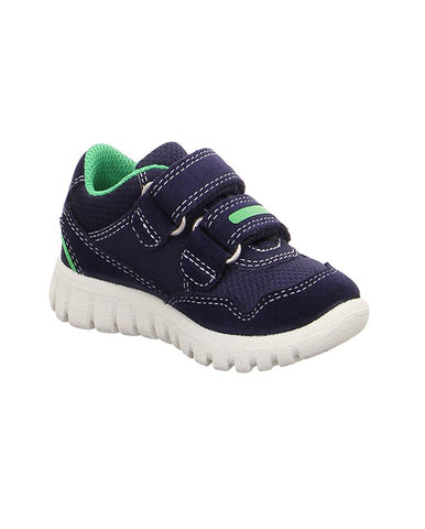 SUPERFIT BABY BOY'S NAVY-GREEN TRAINER 4-09191-81